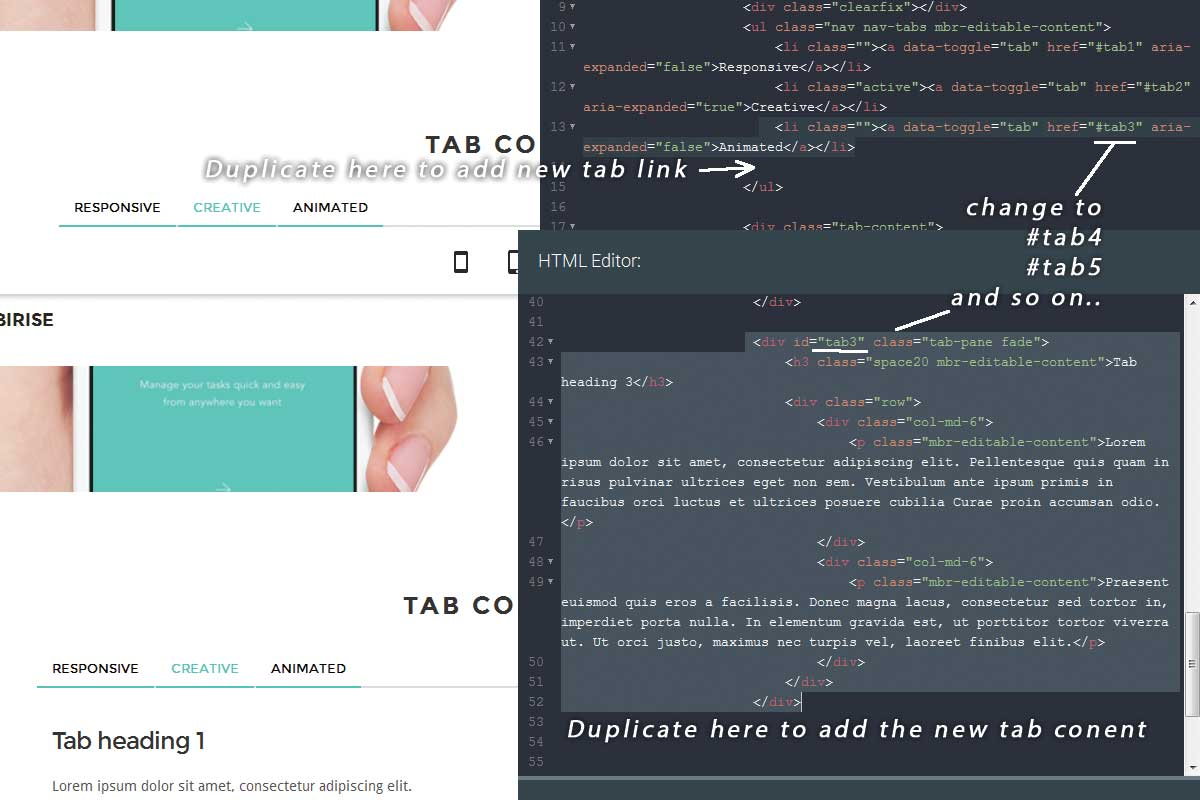 Custom Bootstrap Flat Theme Download